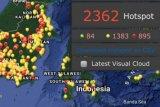 Hotspot kebakaran hutan dan dampaknya pada kualitas udara Sumbar