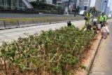 Jakarta tempati posisi ketiga udara terburuk sedunia pada Kamis pagi ini