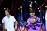 Rafael Nadal empat kali juarai US Open, kalahkan Medvedev