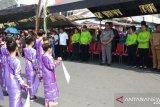 Kirab budaya awali pelaksanaan Festival Pesona Sangihe