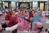 Jamaah haji kloter 32 asal Kabupaten Maros dan Takalar tiba di Makassar