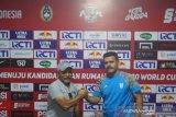 Timnas U-19 siap antisipasi umpan bola-bola atas saat hadapi Iran di Yogyakarta