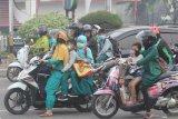 Karhutla Riau - Kualitas udara Dumai saat ini berbahaya