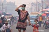 Karhutla Riau - VIDEO - Wali Kota Pekanbaru instruksikan sekolah libur dua hari karena asap karhutla