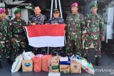 Komandan Guspurla Koarmada III kunjungi pasukan penjaga pulau terluar Papua