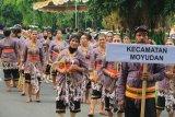 Festival Garis Imaginer Sleman dimeriahkan kontingen dari berbagai daerah