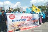 Di Kendari, ratusan mahasiswa deklarasi dukung revisi UU KPK RI