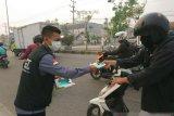 Karhutla Riau - Peduli dampak asap, MRI dan ACT bagikan masker
