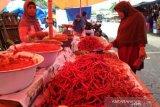 Harga cabai merah di Agam turun jadi Rp55.000 perkilogram