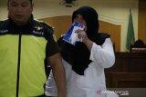 Kompol Tuti Maryati dituntut tiga tahun kurungan