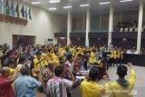 Ratusan mahasiswa Unsri duduki kantor gubernur sampai malam hari