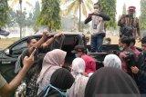 Karhutla Riau - VIDEO - Seratusan mahasiswa FISIP gelar aksi tanggapi Karhutla Riau