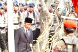 Presiden Joko Widodo pimpin upacara kenegaraan pemakaman BJ Habibie