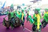 Masyarakat padati rute pawai Festival Garis Imajiner di lereng Merapi
