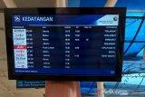 Karhutla Riau - Waduh, kabut asap mulai ganggu penerbangan di Bandara Pekanbaru