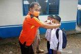 2.600 masker dibagikan gratis cegah masyarakat Agam terpapar ISPA