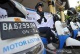 Menjajal Motor Listrik PLN keliling Padang