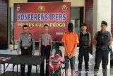 Polsek Samigaluh Kulon Progo borgol residivis pencurian uang