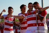 Liga 1 -- Madura United bermain imbang 2-2 dengan Barito Putera