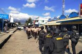 Jaga kamtibmas, Polres Jayawijaya gelar patroli di Kota Wamena