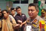 Ledakan markas brimob Jateng, satu polisi terluka