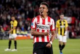 Donyell Malen cetak lima gol kala PSV gasak Vitesse 5-0