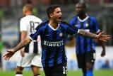 Inter berhasil rebut posisi puncak usai taklukan Udinese