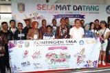Peserta Festival dan Lomba Seni Siswa Nasional telah berdatangan di Lampung