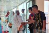 Jamaah haji Sulawesi Utara tiba di Bandara Sam Ratulangi Manado