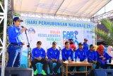Sambut HUT Perhubungan, CFD digelar di Sumbawa Barat