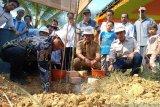 Desa di Musi Banyuasin  bedah rumah gunakan pendapatan BUMDes