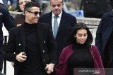 Cristiano Ronaldo hadiri pernikahan Nadal