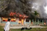 Madrasah Aliyah Guppi  di Kabupaten Mamuju terbakar