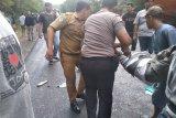 Tabrakan bus dan truk di Way Kanan, polisi tegaskan korban tewas sementara delapan orang