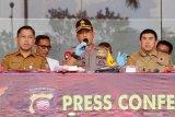 Sebanyak 504.000 warga Kalbar terdampak ISPA,kata Kapolda