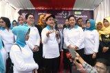 Ibu negara Iriana Jokowi canangkan Aksi Gerakan Indonesia Bersih di Bogor