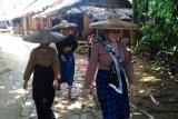 Polres Lebak menggelar rekontruksi pembunuhan gadis Baduy