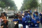 Partai Demokrat Riau distribusikan 50.000 masker