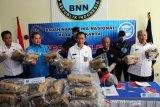Peredaran ganja 50 kg jaringan Sumatera berhasil digagalkan