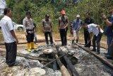 Ratusan sumur minyak  liar ditemukan di Musi Banyuasin