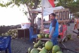 Gara-gara kabut asap, penjual kelapa muda di Pantai Padang sepi pembeli