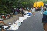 Delapan jenazah  korban kecelakaan di RSUD Martapura dijemput keluarga