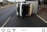 Sopir kurang konsentrasi, dua kecelakaan terjadi di Jakarta Selasa pagi