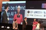 Robot Sophia pamer kecerdasan di Jakarta