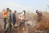 Upaya Polres Lingga meredam asap dan api