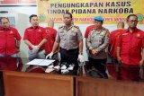 Polres Minahasa Selatan ringkus empat tersangka narkotika sabu