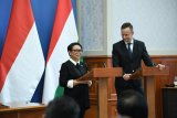 Menlu dorong kerja sama ekonomi, pendidikan RI-Hongaria