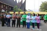 Dharma Pertiwi Daerah A Tanamkan Nilai Bela Negara dengan Lomba Baris Berbaris