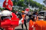 Daop Surabaya tekan kecelakaan di perlintasan KA dengan bantuan manusia robot