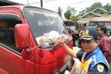 PT KAI Divre Sumbar sosialisasikan keselamatan di perlintasan sebidang sekitar Padang Pariaman
